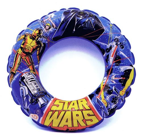 Star Wars swimming pool ring circa 1978 :: scanned from Star Wars: 1000 Collectibles :: Abrams Books :: 2008