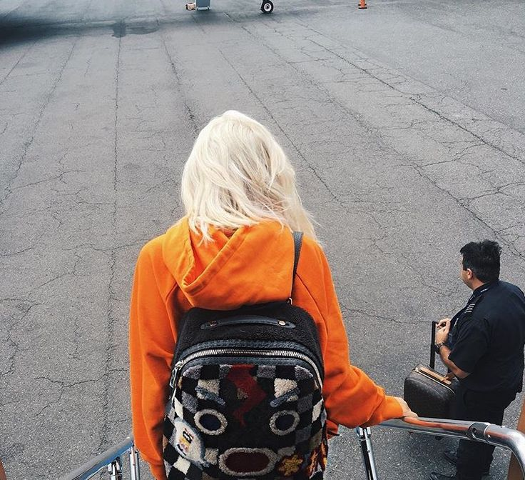 Kylie Jenner Platinum Blonde Hair