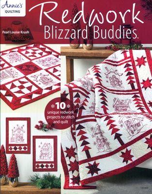 Redwork Bilzzard Buddies