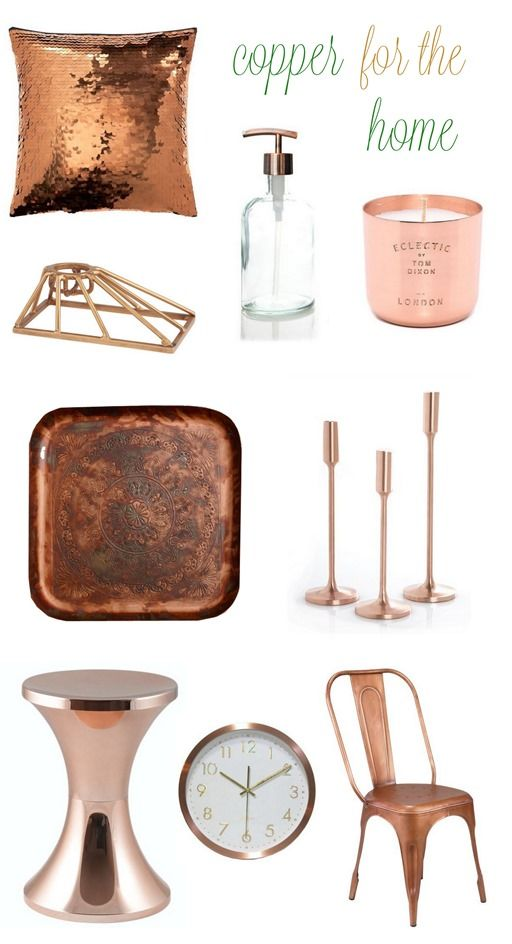 Copper accents are on trend for fall and a gorgeous choice for the kitchen. Find ways to incorporate this warm, classic metal into your home decor here.