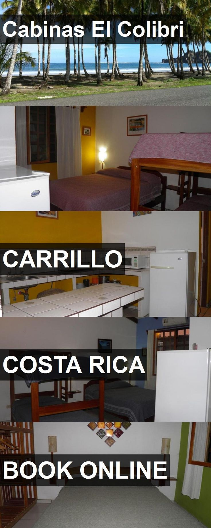 Hotel Cabinas El Colibri in Carrillo, Costa Rica. For more information, photos, reviews and best prices please follow the link. #CostaRica #Carrillo #travel #vacation #hotel