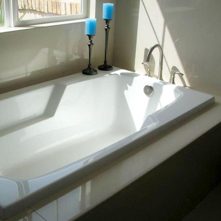 Hydro Systems Napa 4.5 ft. x 30 in. Reversible Drain Bathtub in White