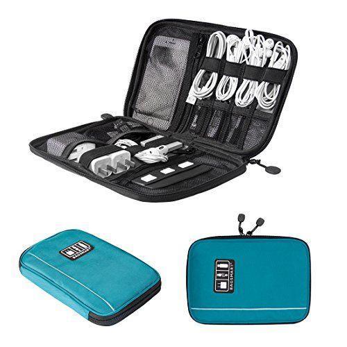 BAGSMART Travel Universal Cable Organizer Electronics Acc...