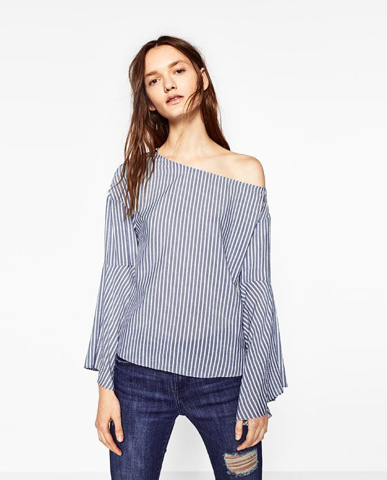 Image 2 of FULL STRIPED TOP from Zara