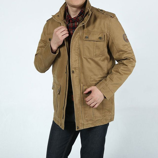New Autumn Outdoors AFS JEEP Bomber Cotton Jacket Army Military Jacket Men Pockets Hooded Plus Size 3xl Casual Coat Jaqueta 8228  US $60.49 /piece CLICK LINK TO BUY THE PRODUCT  http://goo.gl/oYWEYs