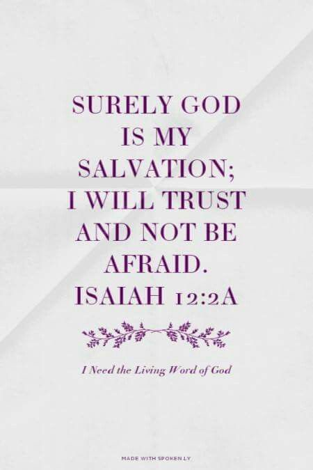 Isaiah 12:2a