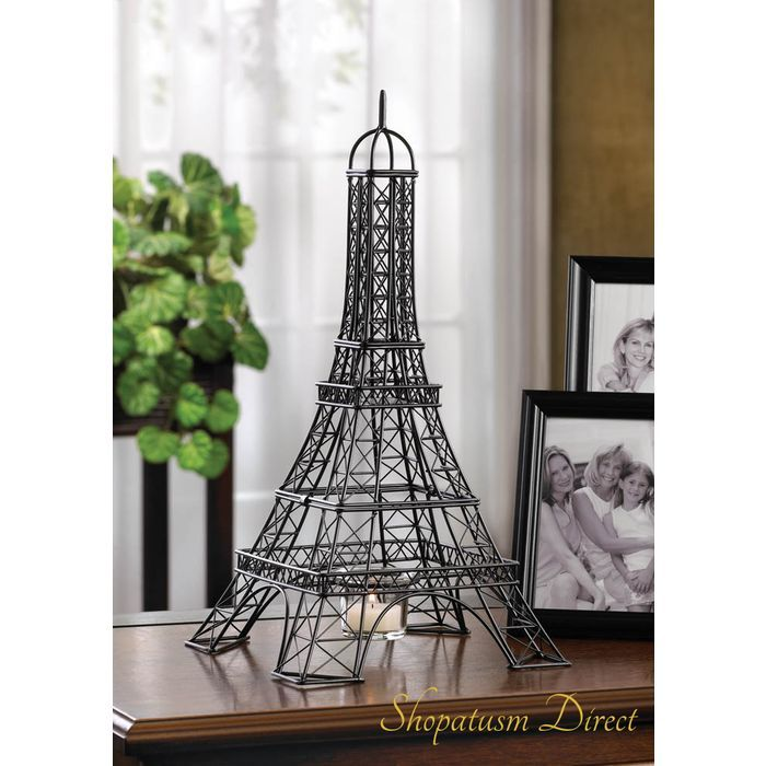 12 Wholesale Candle Holders, Eiffel Tower Candle Holder, Table Centerpieces