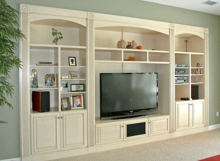 Built In Entertainment Wall Units