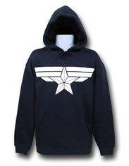 Captain America Winter Soldier Pullover Hoodie