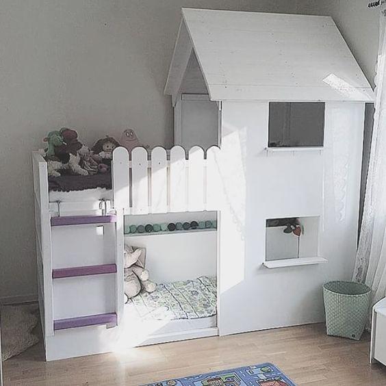 Kinderzimmer ideen ikea hochbett  Die besten 20+ Ikea hochbett Ideen auf Pinterest | Betten bei ikea ...