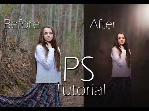 How to Edit Wood(Outdoor) Portrait in Photoshop cc (Tutotrial ) - Photoshop,Corel Draw, After Effects,3ds Max