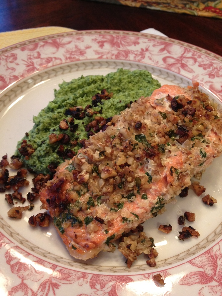 ... quick and easy pecan crusted dijon salmon almond crusted salmon with