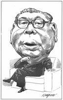 Chaim Herzog, Former President of Taiwan Chian Ching