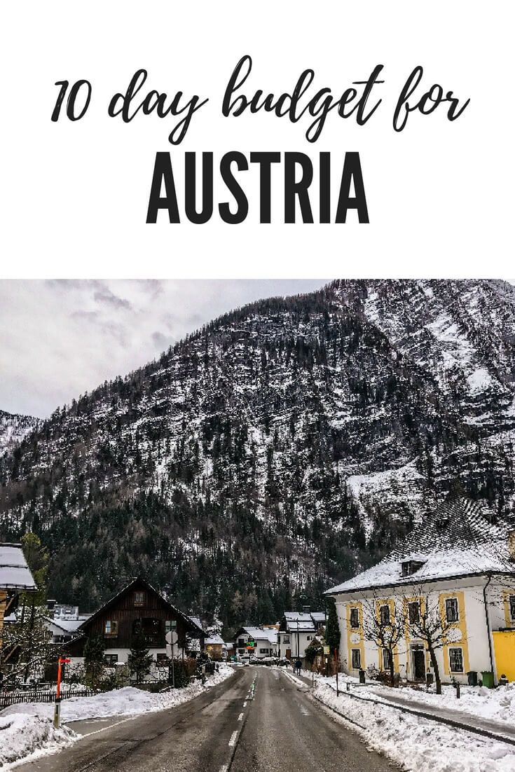 how much does a trip to austria cost