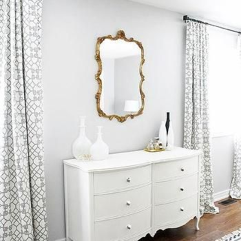 Silver Gray Paint Color, Contemporary, bedroom, ICI Dulux Silver Cloud, AM Dolce Vita