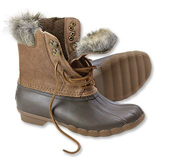 Just found this Sperry Winter Duck Boots - Sperry%26%23174%3b Whitewater Fur-Trimmed Duck Boots -- Orvis on Orvis.com!