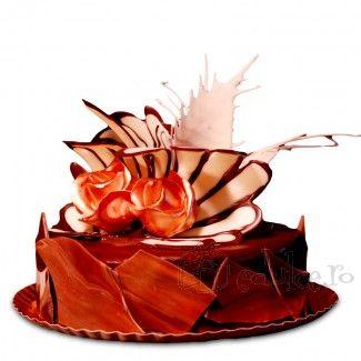 Crema si glazura de ciocolata, foi de rulada si martipan