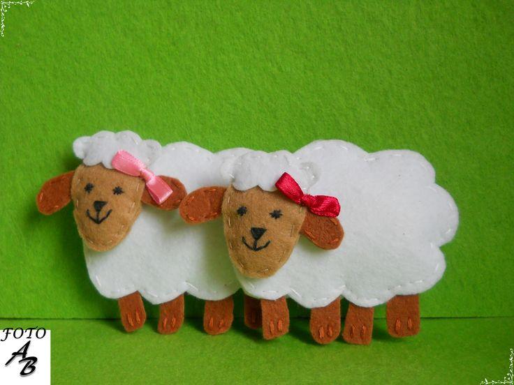 Sheep felt / Owieczki filc