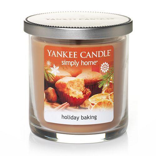 Yankee Candle simply home 7-oz. Holiday Baking Jar Candle #Kohls #holiday #decor