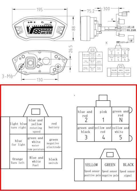 17+ Universal Motorcycle Speedometer Wiring Diagram - Motorcycle Diagram -  Wiringg.net in 2020 | Types of electrical wiring, Odometer, DigitalPinterest
