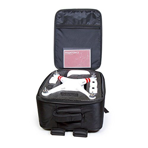 #super  Take your DJI #Phantom everywhere you want in style and security with the Atomik DJI Phantom 1 and DJI Phantom 2 Deluxe Black backpack. The exterior feat...