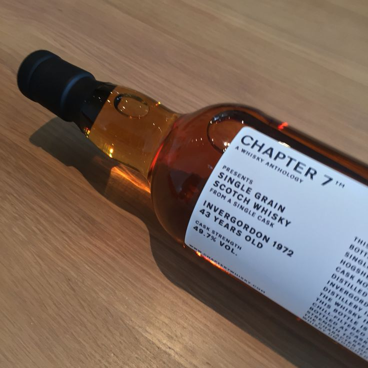 1972 Invergordon Single Grain Scotch Whisky