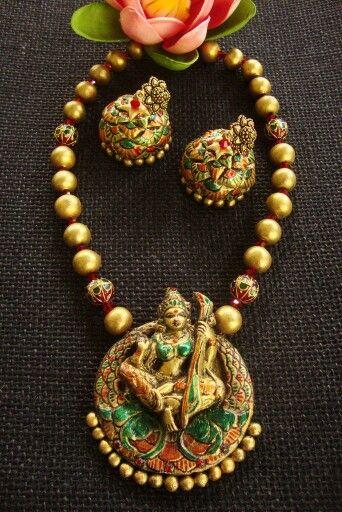 Divine Terracotta Jewellery Designs Terracota