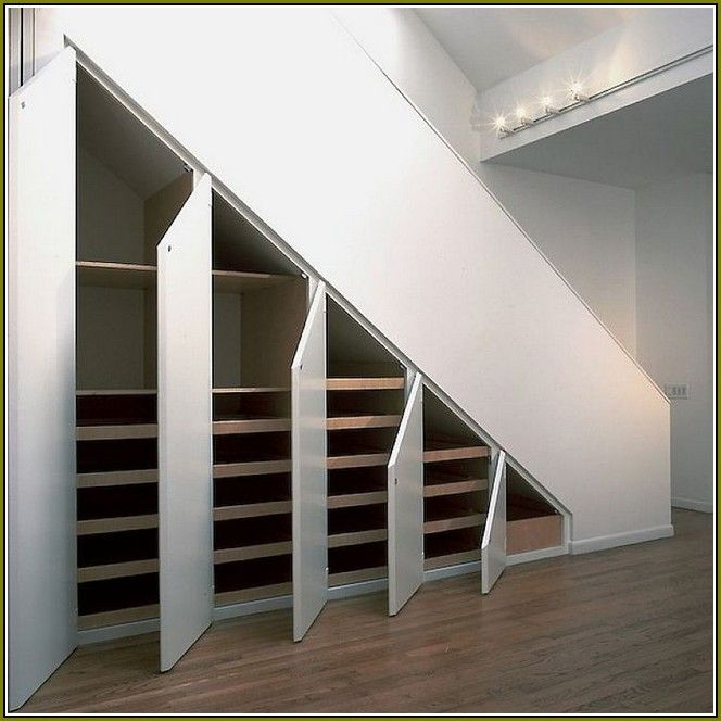 Lighting Basement Washroom Stairs: 1000+ Ideas About Closet Storage Solutions On Pinterest