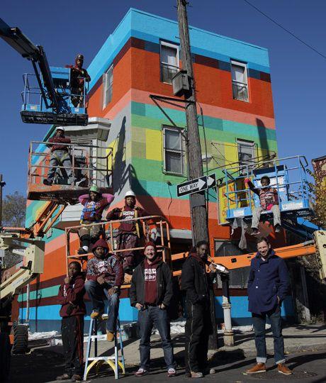 Ghetto fabulous: the murals of Haas & Hahn - Telegraph