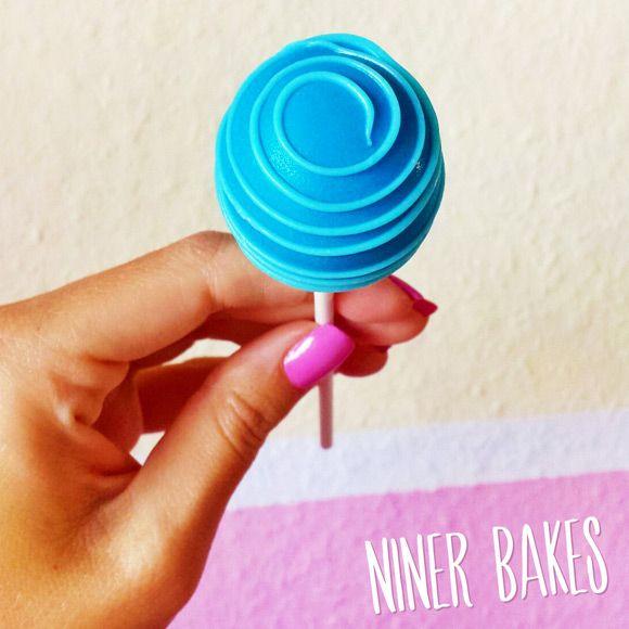 How to make Swirl Cake Pops - Tutorial - by niner bakes