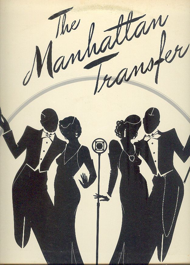 The Manhattan Transfer self-titled LP