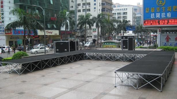 What are the height of the mobile stage? How to choose?