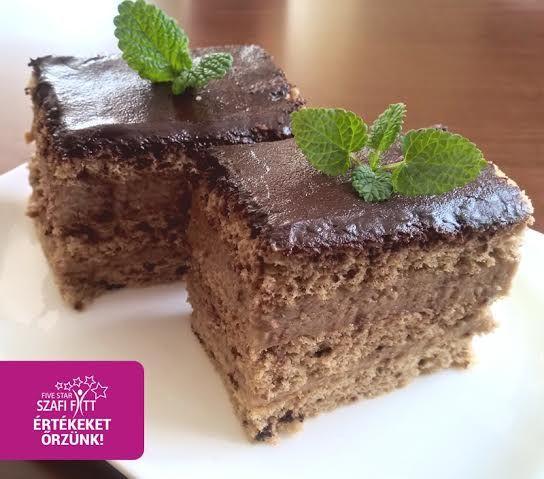 Kávés kocka, torta (paleo, gluténmentes, tejmentes, cukormentes, szénhidrátszegény)