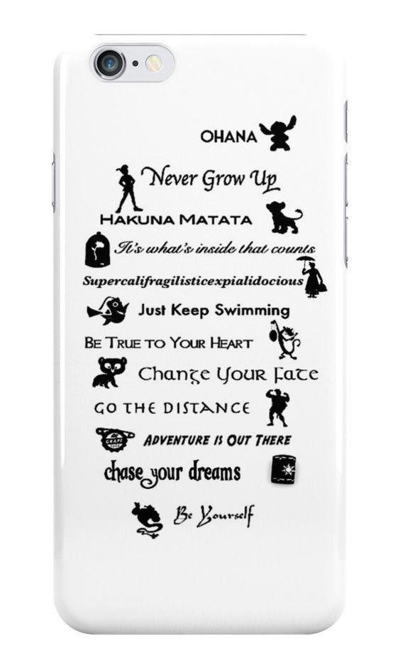Disney quotes iPhone case ($25)