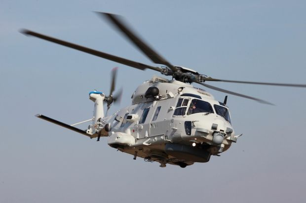 NHIndustries (part of Airbus group) NH 90. Both transport & anti submarine/shipping naval versions in service, with several air arms. Known as Caiman (Cayman) in French service, though only known by letters & numbers in other fleets, like Belgium, Australia, etc.