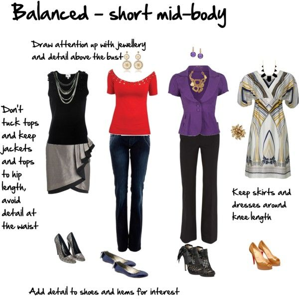 """Body Proportions - short mid-body"" by imogenl on Polyvore"