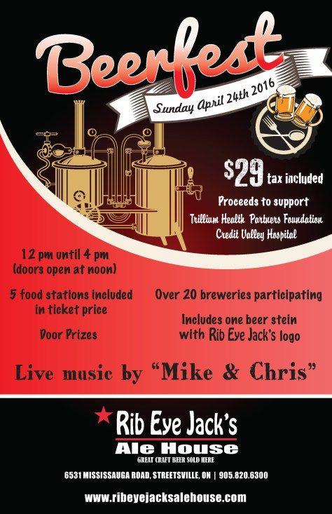 Beerfest - in support of Trillium Health Partners Foundation #Streetsville