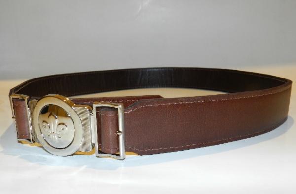 Cinturón de cuero Scout   Tienda Scout