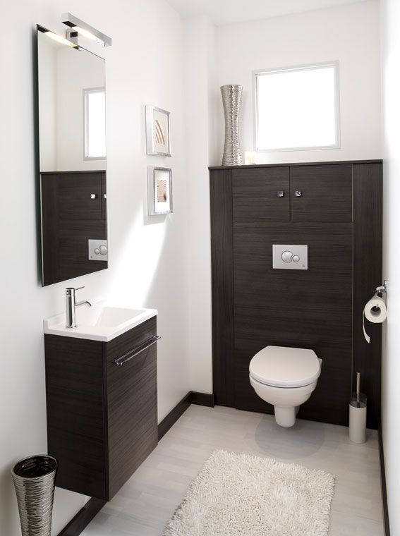 exemple décoration wc suspendu | Haus in 2019 | Badezimmer ...