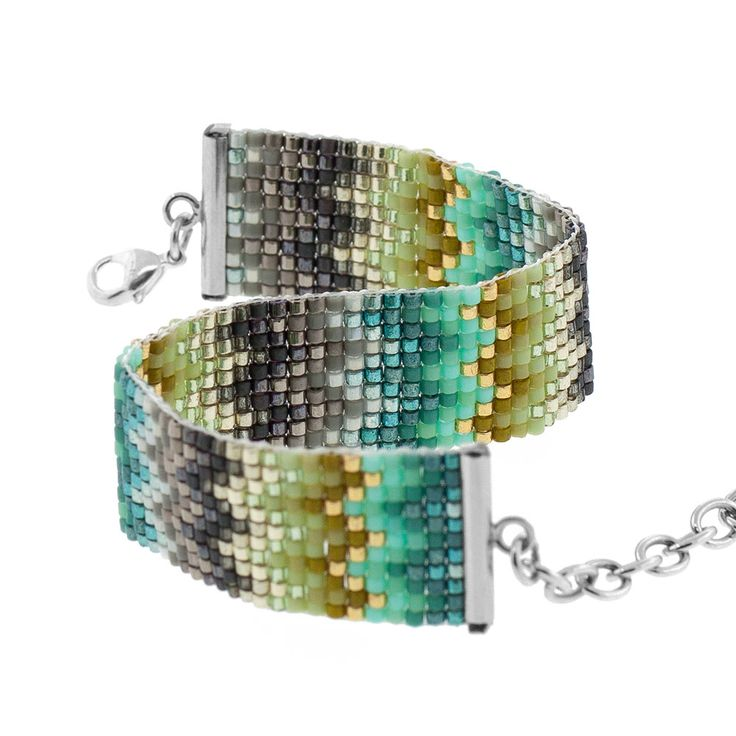 Missoni Inspired Loom Bracelet