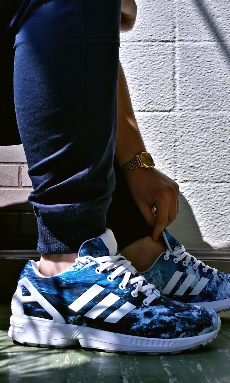 adidas zx flux ocean outfit