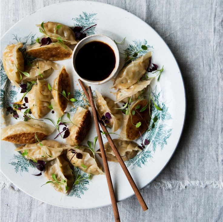 Anna Jones's party recipes for noodle bowls and dumplings   The modern cook
