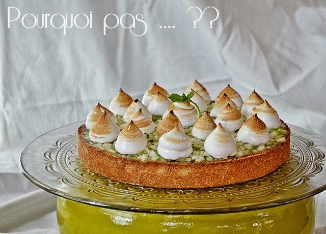 Pourquoi+pas+....+??:+Tarte+Mojito