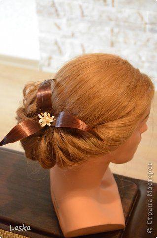 Мастер-класс Украшение Моделирование Заколка из волос- ПОСТИЖ Волосы фото 1