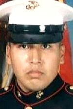 Marine Pvt Edwardo J. Lopez, 21, of Aurora, Illinois. Died October 19, 2006, serving during Operation Iraqi Freedom. Assigned to 2nd Battalion, 3rd Marine Regiment, 3rd Marine Division, III Marine Expeditionary Force, Kaneohe Bay, Hawaii. Died of wounds sustained when hit by enemy small-arms fire during combat operations in Asad, Anbar Province, Iraq.