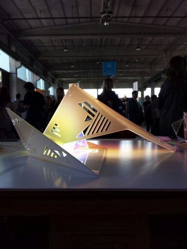 @alessandra meacci @lambrate @Fuorisalone .it #milandesignweek #designweek #milano #light alessandrameacci