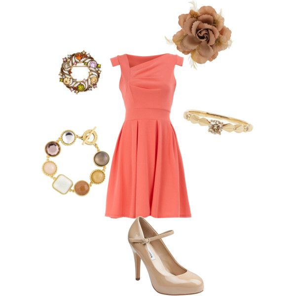 Neutral Party, created by dontana-danielle on Polyvore