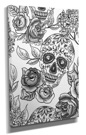 Day Of The Dead :: Day Of The Dead Canvas - Design 14 50x70CM