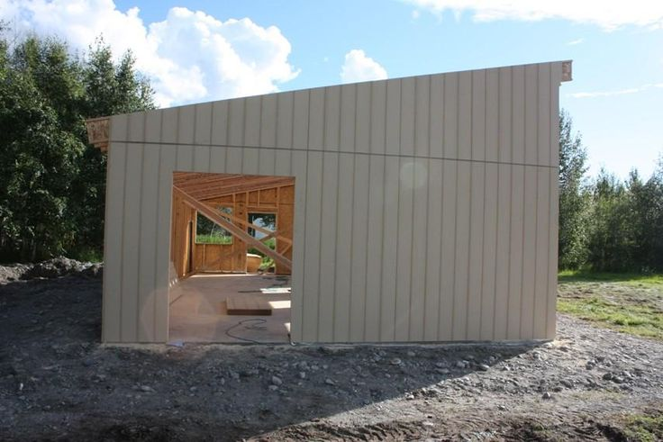 Single slope barns joy studio design gallery best design for Pole barn roof pitch