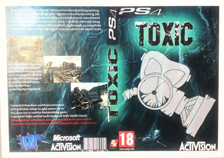 Concept game cover, created by a Year 10 student in the Technology department at SVCS.